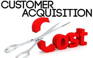 Customer Acquisition Cost for new customers