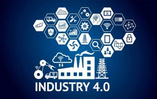 image of smart factory in Industry 4.0