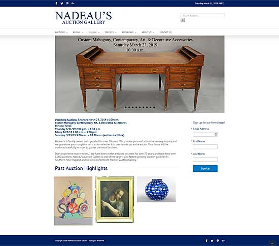 nadeaus auction